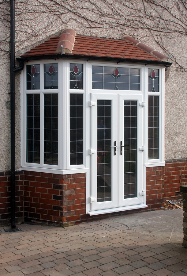 Upvc replacement windows doors fascias soffits and for Double opening front doors